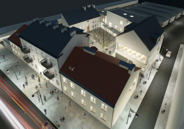Wizualizacja przyszłego muzeum - fot. MWP