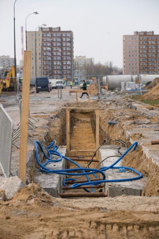 Metro Na Brodno Silosy Przy Kondratowicza Targowek