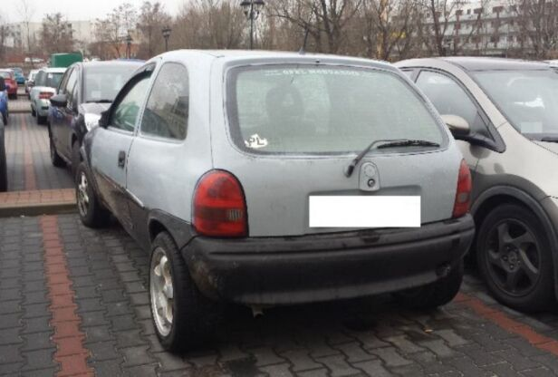 Zabezpieczony samochód ksp