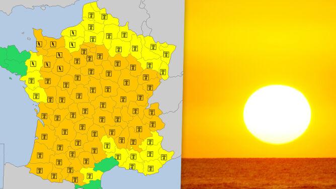 Francja się zagotuje. <br />Na termometrach powyżej 40 stopni
