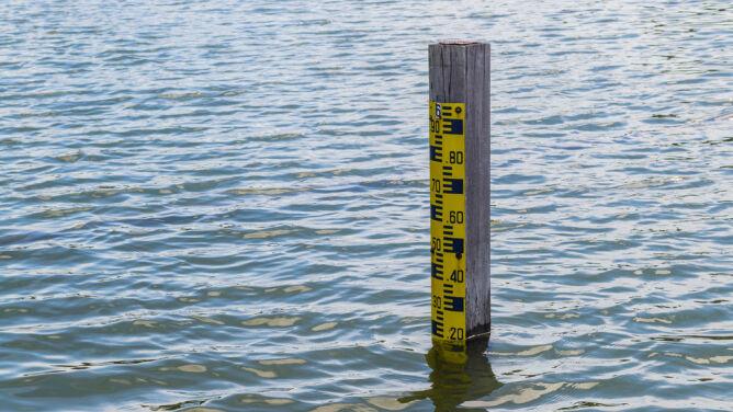 Przekroczone stany ostrzegawcze na dwóch rzekach na Śląsku
