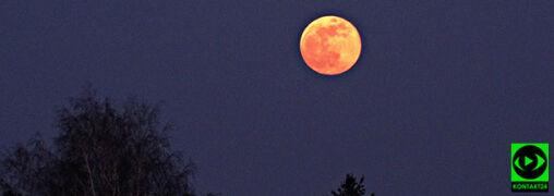 """""""Księżyc robi dziś wrażenie"""". Zobacz największą pełnię tego roku"""