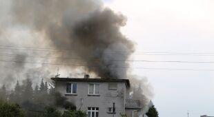 Burmistrz Kobylina o zapaleniu się domu
