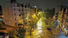 Zalane ulice w Gdańsku (autor: internauta Tomek)