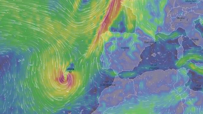 Huragan Leslie nadciąga nad Portugalię. Przyniesie wichury i ulewy