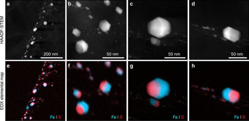 Diamenty w meteorycie (Nature Communication)