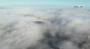Mgła spowiła Sydney