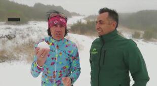 """""""To nie żart to naprawdę jest śnieg na Maderze"""""""
