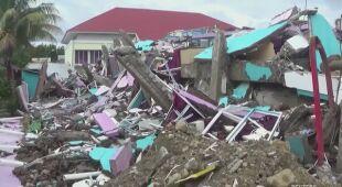 Zniszczenia w Indonezji