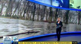 Ostrzeżenia hydrologiczne w Polsce (TVN24)